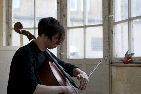 Rémy Bélanger de Beauport, Cellist, 09.05.2016 @ Skulpturengiesserei, Berlin
